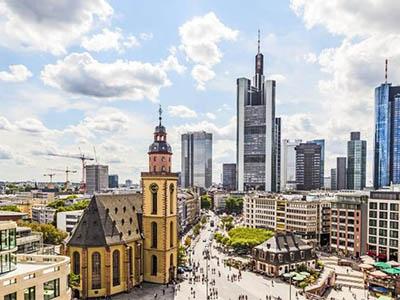 Frankfurt nad Menem - atrakcje - Bromarbusy busy do Niemiec i Polski